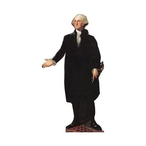 George Washington Cutout *538