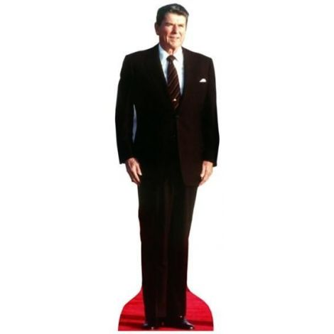 Ronald Reagan Cutout dark suit 572