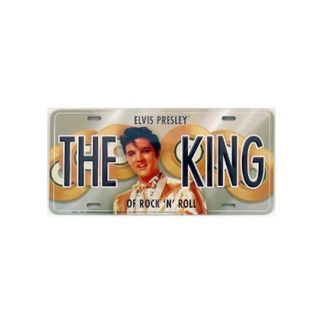 Elvis Presley License Plate