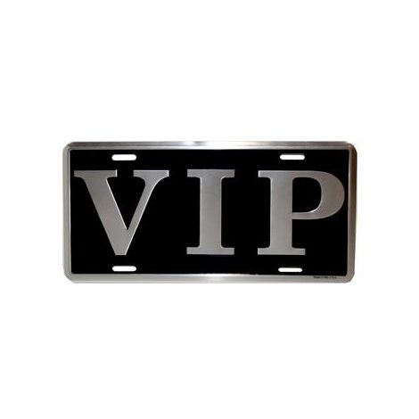 VIP License plate