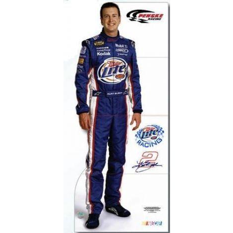 NASCAR Kurt Busch Cutout