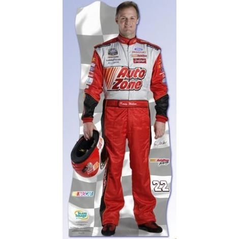NASCAR Kenny Wallace Cutout