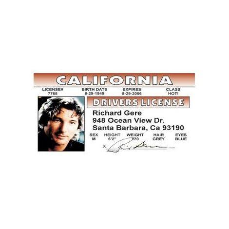 Richard Gere License