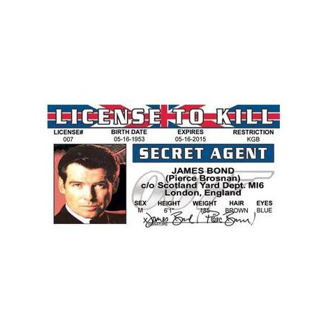 James Bond Pierce Brosnan License to Kill