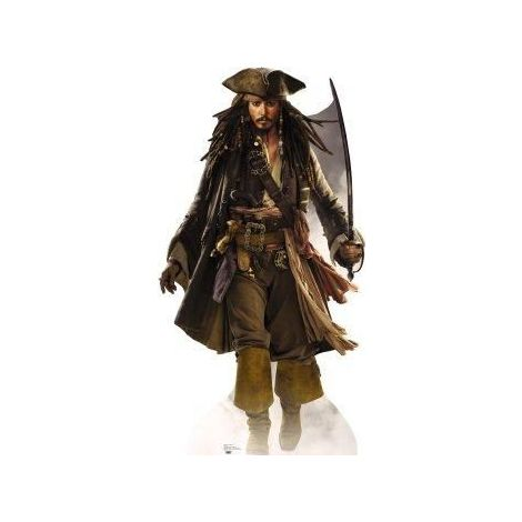 Jack Sparrow, Johnny Depp  cutout 690