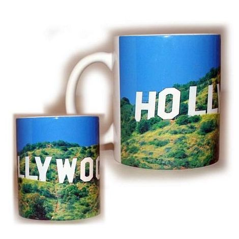 Hollywood sign Cup