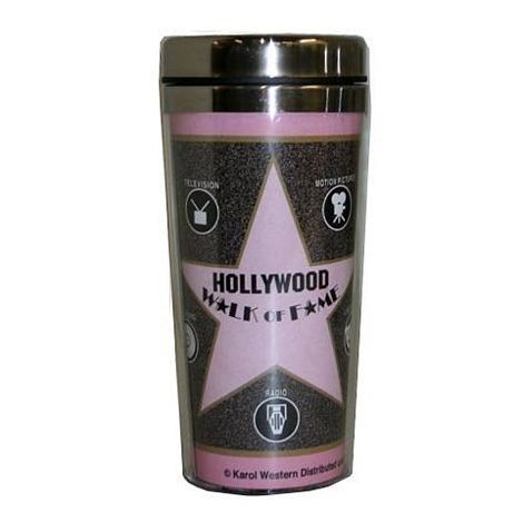 Travel Mugs Walk of fame Star