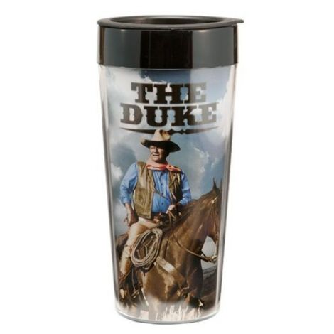 John Wayne 16 oz. Plastic Travel Mug