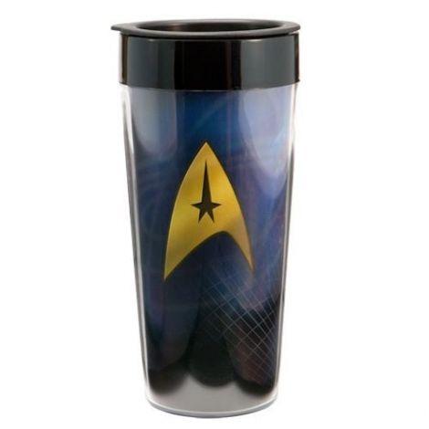 Star Trek 16 oz. Plastic Travel Mug