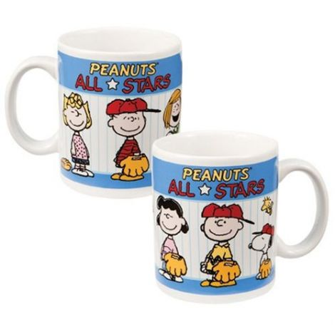 "Peanuts ""All Stars"" 12 oz. Ceramic Mug"