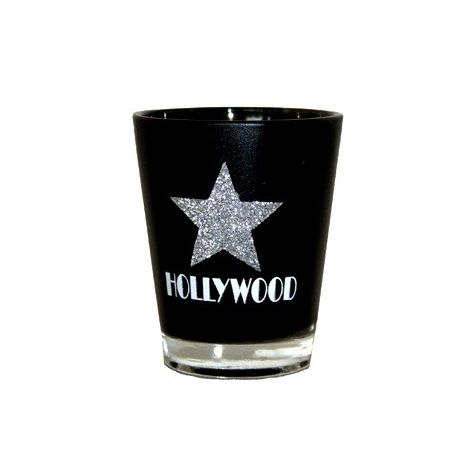 Hollywood shot glass