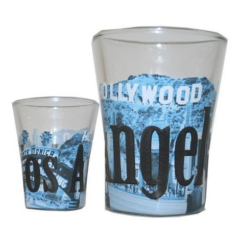 Los Angeles Shot Glass