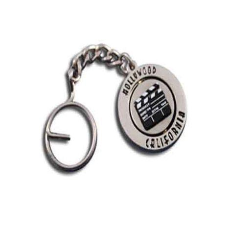 Hollywood California Clapboard Keychain