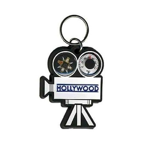 Movie Camera Combo Keychain