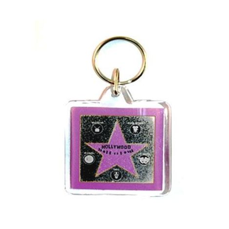 Walk of Fame Key chain