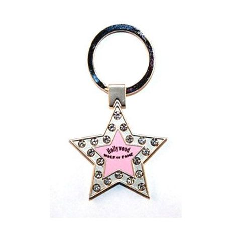 Walk of Fame Star Key chain