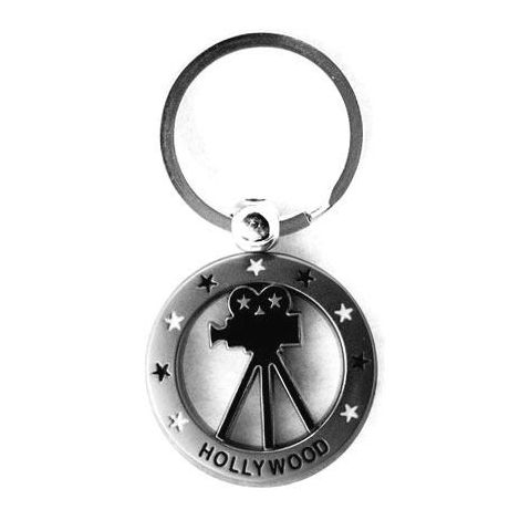 Hollywood Camera keychain