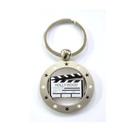 KeyChain Metal Clapboard (available 2 pieces)