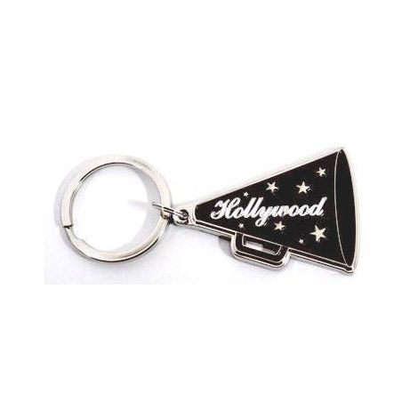 Hollywood Megaphone Key Chain