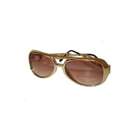 Original Elvis' Style Sunglasses Gold Color