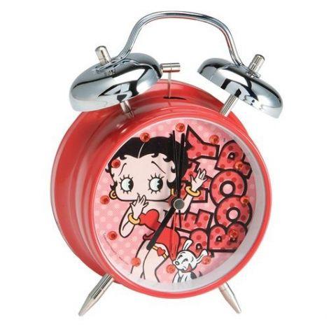 Betty Boop Twin Bell Alarm Clock