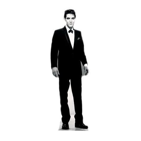Elvis 'Black Tuxedo' Cutout  377