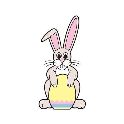 Easter Bunny Cutout 669