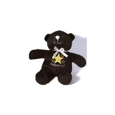 Black Hollywood Star Teddy Bear