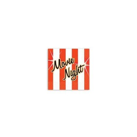 Movie Theater Movie Night Beverage Napkins