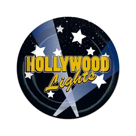 Hollywood nights plates 7 inches