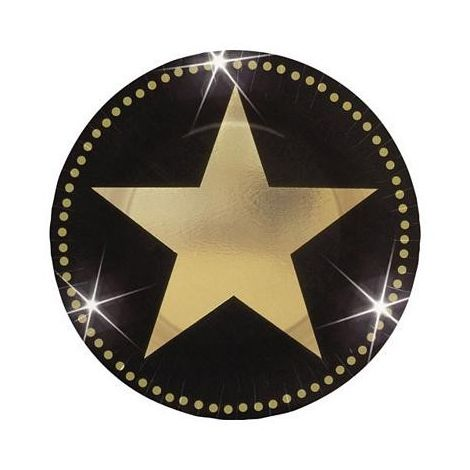 Star Attraction Metallic Plates