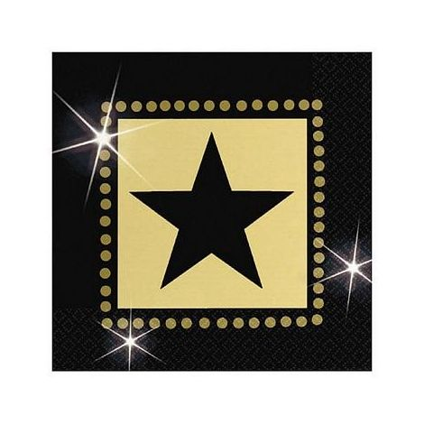 Star Attraction Beverage Napkins