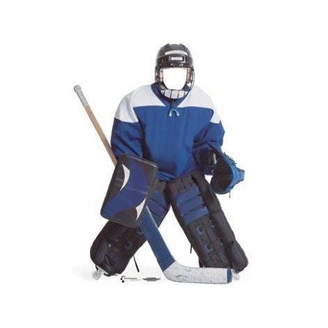 Hockey Player Stand-in Cutout 731