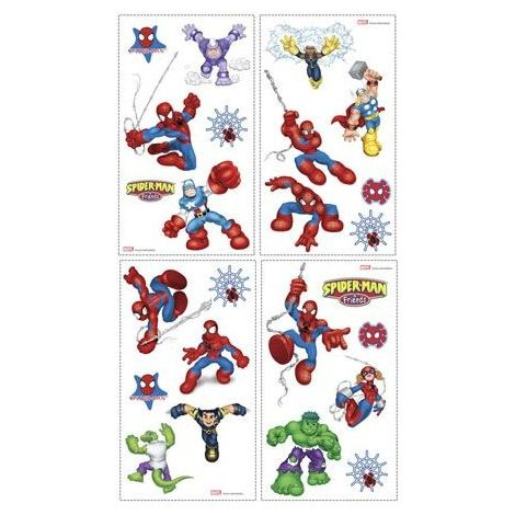 SPIDEY AND FRIENDS Roommates RMK1027SCS