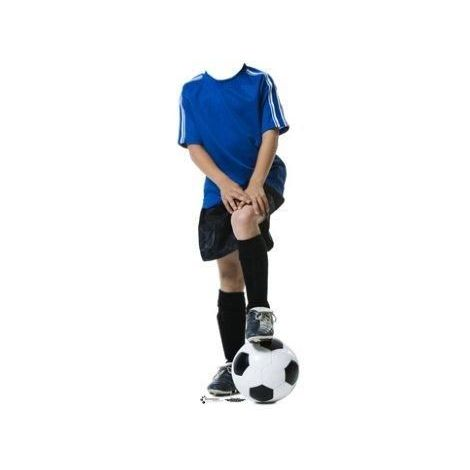 Youth Soccer Player Stand-in Cutout 732