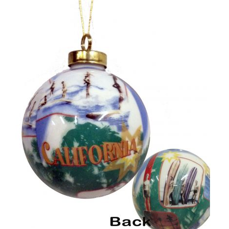 California Christmas Ornaments