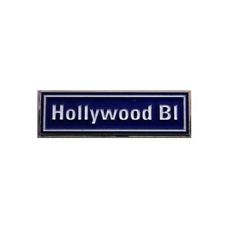 Hollywood Blulevard Street Sign Magnet