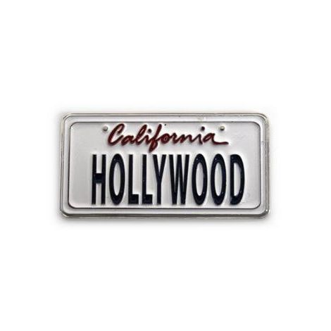 Hollywood License Plate Plate Style Magnet