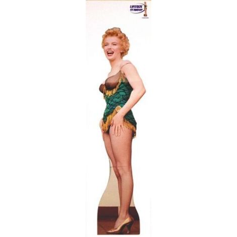 Marilyn Monroe, Green fishnet cutout #65