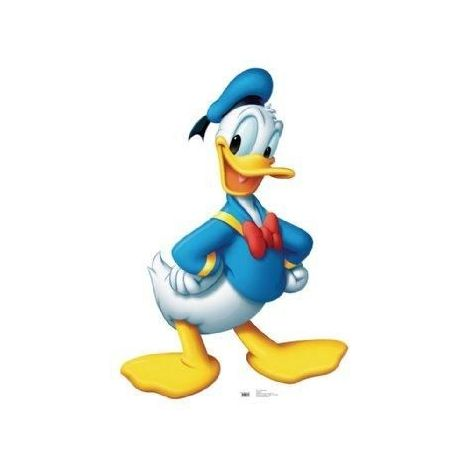 Donald Duck Cutout 741