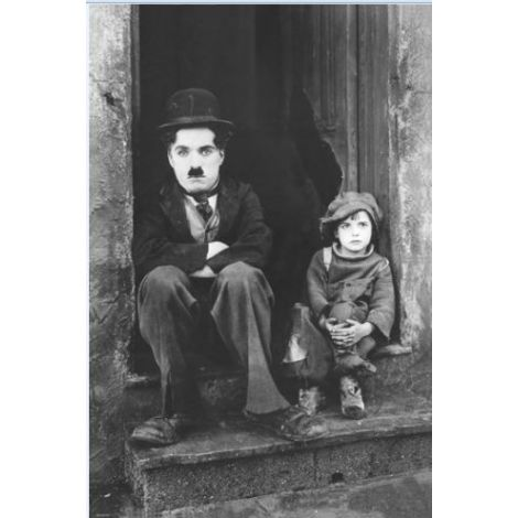 Charlie Chaplin The Kid poster