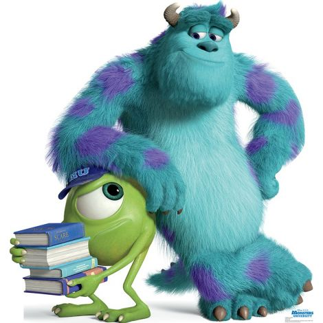 Mike and Sulley, Monsters University Cardboard Cutout #1503