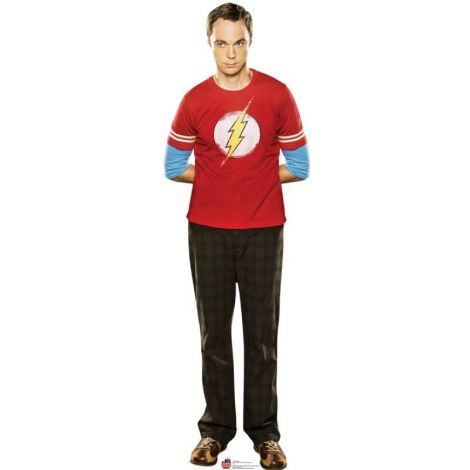Sheldon from TV show Big Bang Theory Lifesize cardboard cutout #1330