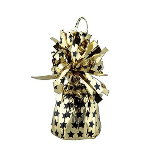 Gold And black stars Balloon Weight (Available 2 pieces.)