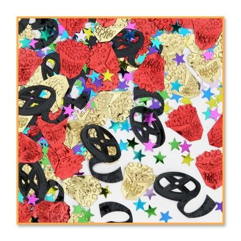 Multi-Color Movie Night Confetti