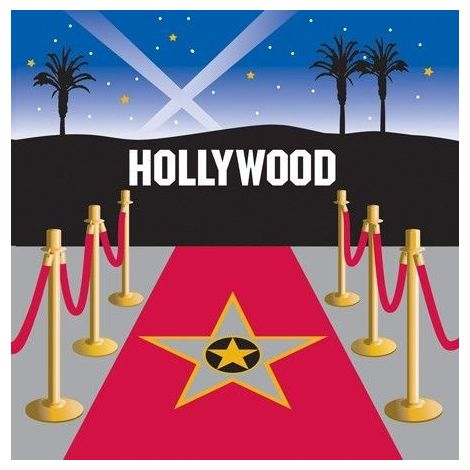 Hollywood 3-Ply Lunch Napkins (available 5 pk)