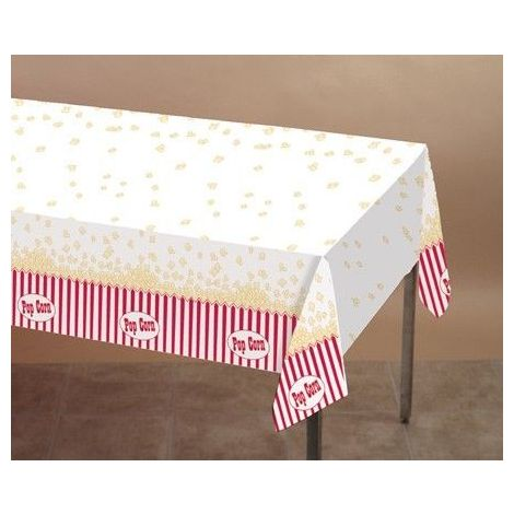 Plastic Popcorn Table cover