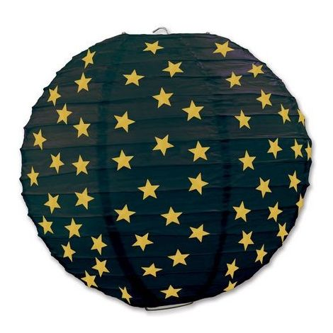 Gold Star Paper Lanterns
