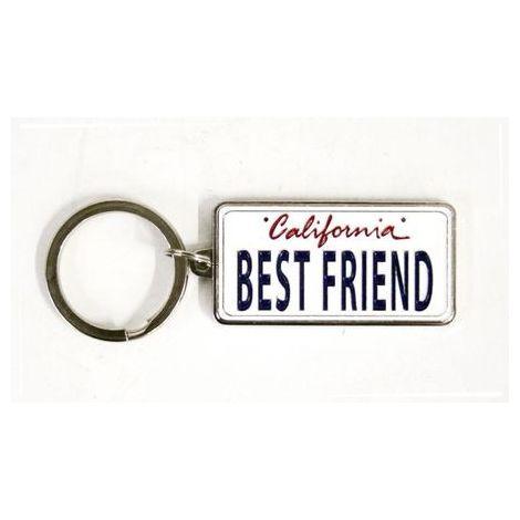 Best Friend Keychain