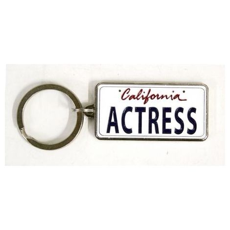 Actress Keychain